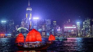 Hong Kong Adakan Perayaan Malam Tahun Baru Virtual
