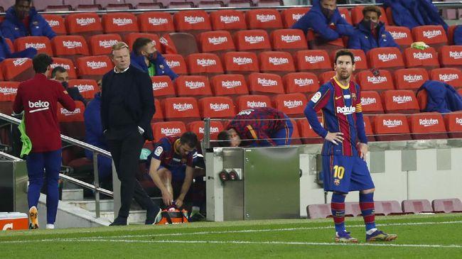 PBSI respons anggapan atlet pelantas kegemukan hingga Barcelona kalah di leg pertama semifinal Copa del Rey menjadi sejumlah berita menarik dunia olahraga.