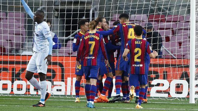 Barcelona lolos ke final Piala Super Spanyol hingga Ole Out menggema di Twitter jadi yang terpopuler di kanal olahraga CNNIndonesia.com.