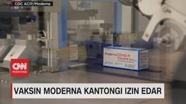 VIDEO: Vaksin Moderna Kantongi Izin Edar