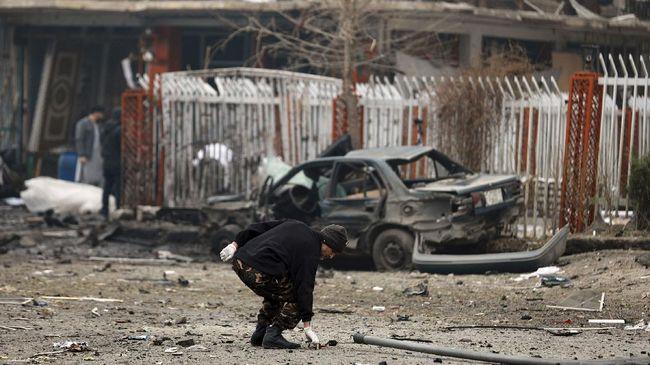 Serangan bom mobil di Ibu Kota Kabul, Afghanistan, menewaskan lima orang termasuk empat dokter.
