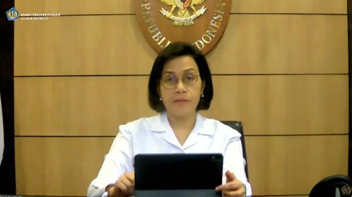 Menteri Keuangan Sri Mulyani dalam Konferensi Pers APBN KITA (Tangkapan Layar Youtube Kemenkeu RI)