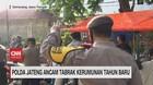 VIDEO: Polda Jateng Ancam Tabrak Kerumunan Tahun Baru
