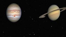 VIDEO: Yuk Lihat Planet Jupiter dan Saturnus dari Bumi