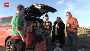 VIDEO: Merayakan Natal di Perbatasan Skotlandia-Inggris