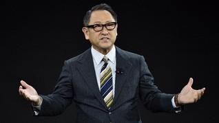 Bos Toyota Dikritik Investor Soal Larangan Mobil Konvensional