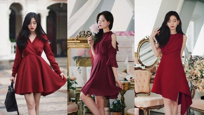 7 Referensi Red Dress untuk Hari Natal, Bikin Kamu Makin Cantik