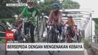VIDEO: Bersepeda dengan Mengenakan Kebaya