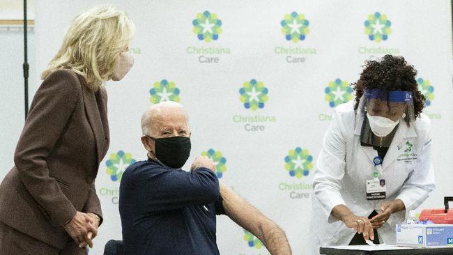 Presiden Joe Biden membuat sejumlah kebijakan untuk membantu menurunkan kasus infeksi virus corona di Amerika Serikat.