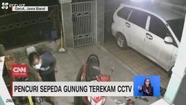 VIDEO: Pencuri Sepeda Terekam CCTV