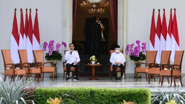 Survei nasional Parameter Politik Indonesia atas kinerja pemerintahan RI 2019-2024 sejauh ini menunjukkan kepuasan lebih tinggi pada Jokowi dibanding Ma'ruf.