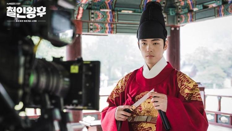 Behind the scene drama Korea Mr. Queen