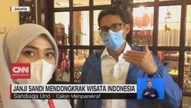 VIDEO: Janji Sandi Mendongkrak Wisata Indonesia