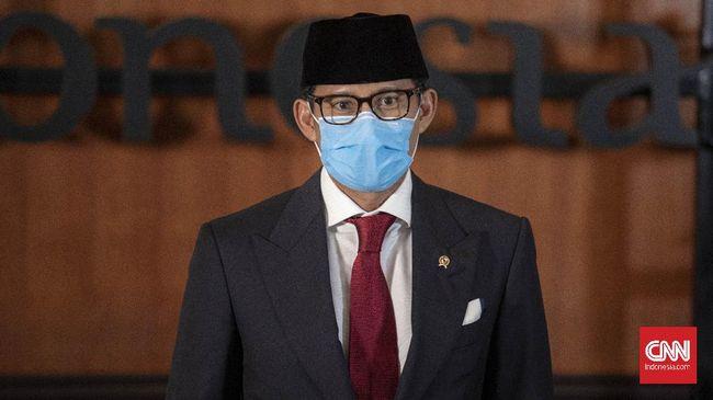 Menparekraf Sandiaga Uno menerima permintaan dari Gubernur dan Wakil Gubernur Bali untuk memberikan fasilitas pinjaman lunak bagi para pelaku usaha.