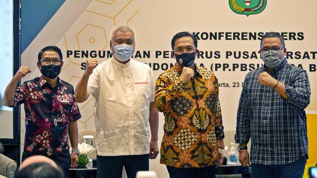 Pengurus PBSI masa bakti 2020-2024 di bawah kepemimpinan Ketua Umum Agung Firman Sampurna resmi dilantik KONI. Berikut susunan pengurus PBSI periode 2020-2024.