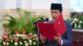 Jokowi Lantik Gubernur Sumbar, Kepri, dan Bengkulu Hari Ini