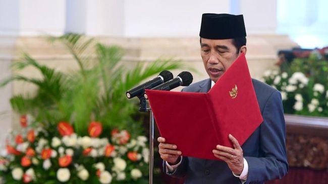 Presiden Jokowi dijadwalkan melantik gubernur terpilih Sumbar, Kepri, dan Bengkulu dilakukan di Istana Negara, Jakarta, sekitar pukul 10.30 WIB.
