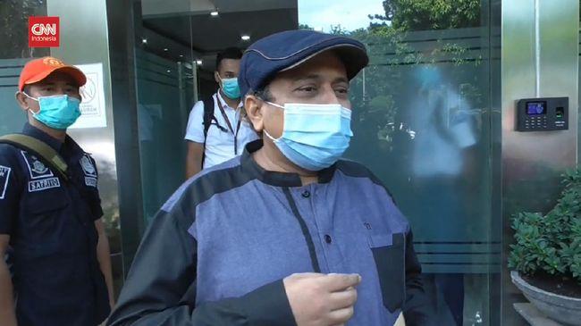 Jubir PA 212 Haikal Hassan memenuhi panggilan Polda Metro Jaya terkait kasus mimpi bertemu Rasulullah pada Senin (28/12).