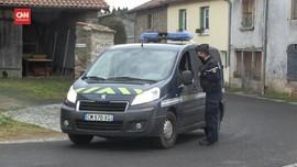 VIDEO: Pelaku Penembakan 3 Polisi Prancis Tewas