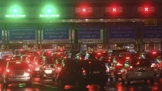 272 Ribu Mobil Tinggalkan Jakarta H-1 dan H-2 Tahun Baru
