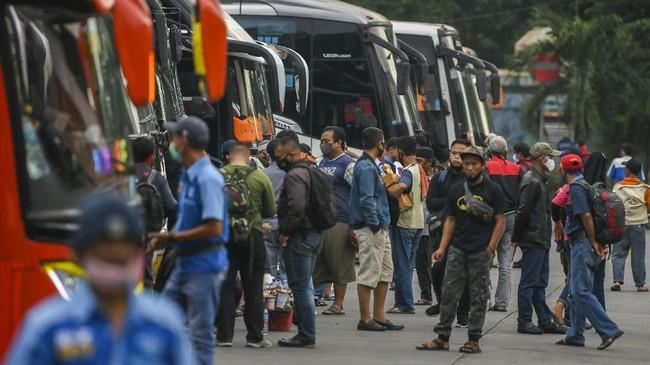 Pesanan Tiket Bus Naik 60 Persen Jelang Larangan Mudik