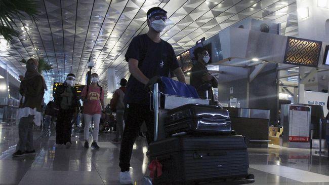 Kemenhub mewajibkan penumpang pesawat ke Bali menunjukkan hasil negatif tes GeNose C19 1x24 dan PCR-Antigen 2x24 jam sebelum keberangkatan.