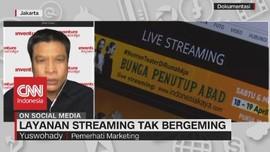 VIDEO: Layanan Streaming Tak Bergeming