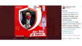 Eks Jubir KPK Sindir Fadjroel Typo Kampanye 'Di Vaksin'