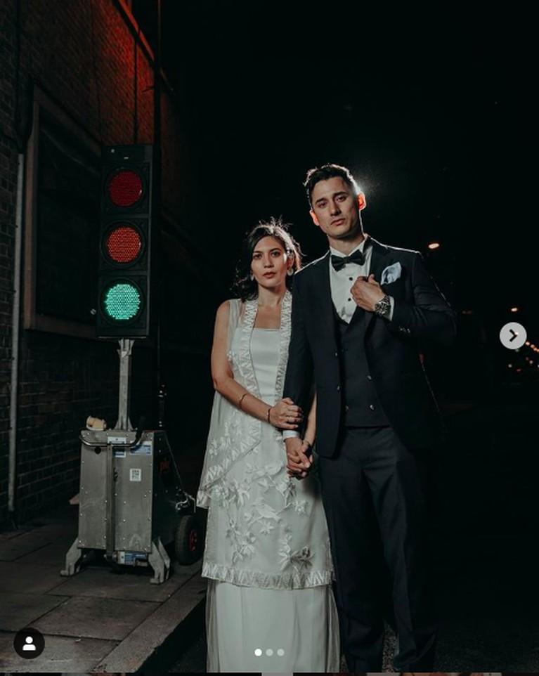 Hannah Al Rashid dan Nino Fernandez menikah