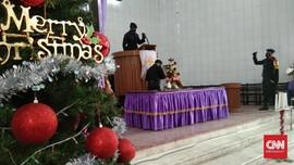 Polisi Sterilisasi Gereja dari Ancaman Bom Jelang Natal