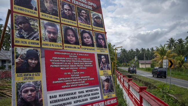 Dua teroris yang masuk DPO kelompok Mujahidin Indonesia Timur (MIT) Poso, pimpinan Ali Kalora tewas dalam kontak tembak dengan Satgas Madago Raya, Senin.