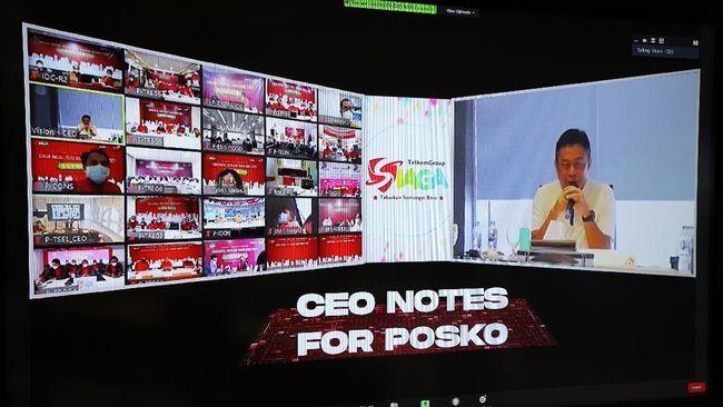 TelkomGroup berkomitmen jaga kualitas layanan mengantisipasi high traffic di momen Natal dan Tahun Baru.