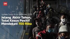 VIDEO: Positif Covid-19 Jadi 692.838 per 24 Desember 2020