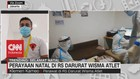 VIDEO: Perayaan Natal di RS Darurat Wisma Atlet