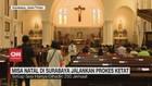 VIDEO: Misa Natal di Surabaya Jalankan Prokes Ketat