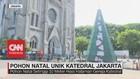 VIDEO: Pohon Natal Unik Katedral Jakarta