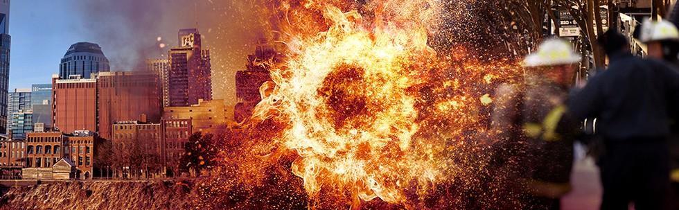 Nashville Diguncang Ledakan