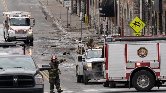 Kemenlu RI menyatakan tidak ada WNI yang terdampak atau menjadi korban dalam peristiwa ledakan di Kota Nashville, AS.