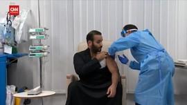 VIDEO: Putra Mahkota Arab Saudi Disuntik Vaksin Corona