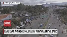 VIDEO: Hasil Rapid Antigen Kedaluarsa, Wisatawan Putar Balik