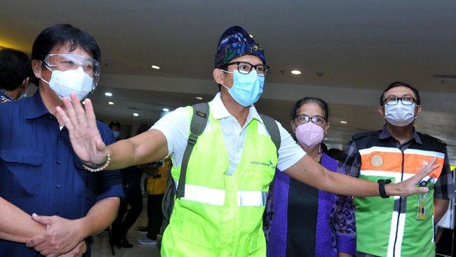 Menparekraf Sandiaga Uno menyebut ledakan bom Gereja Katedral Makassar dapat mempengaruhi daya saing pariwisata Indonesia di mata internasional.