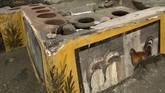 Bar berusia lebih dari 2.000 tahun ditemukan di Pompeii, Italia. Bar ditemukan dalam kondisi baik, meski tertutup abu vulkanik bekas letusan gunung api.