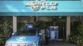 Erick Sebut Mobil Listrik Bakal Ganggu Bisnis SPBU Pertamina