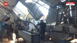 VIDEO: Balas Serangan Hamas, Roket Israel Hantam Gaza