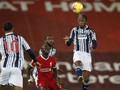West Bromwich, Lawan Sulit Liverpool di Anfield