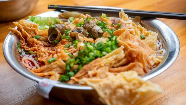 Sup biasanya identik dengan makanan yang menghangatkan dan aromatik. Namun beda dengan Luosifen, sup siput dari China.