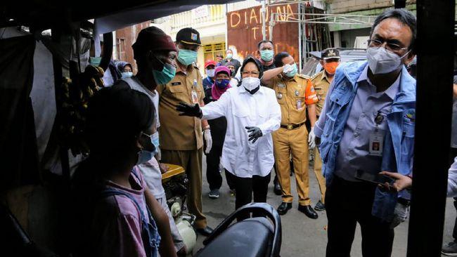 Risma kembali menjanjikan tempat tinggal kepada para gelandangan yang ia temui saat blusukan ke kawasan Jalan MH. Thamrin, Jakarta Pusat.