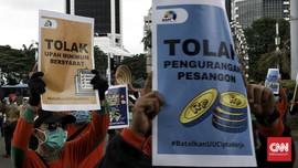 Serikat Buruh Bakal Demo Tolak Aturan Turunan UU Cipta Kerja
