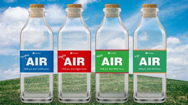 Bagi penduduk Inggris yang saat ini terdampar di luar negeri karena pembatasan perjalanan mungkin bisa membeli udara botolan ini.