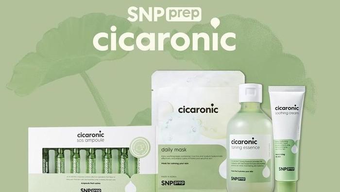 SNP Prep Cicaronic, Rangkaian Skincare Terbaru dari SNP untuk Kulit Sensitif